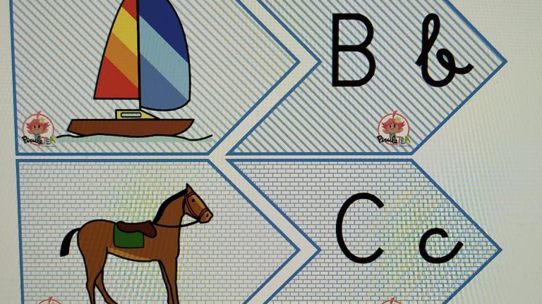 El puzzle-abecedario