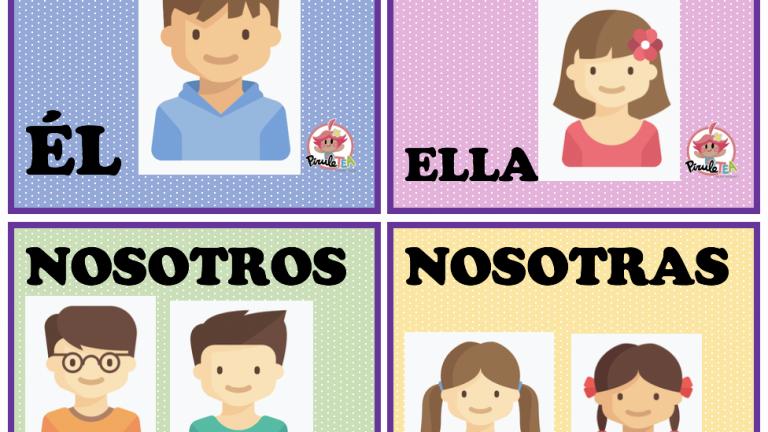 Los verbos: tiempo, conjugación, persona…