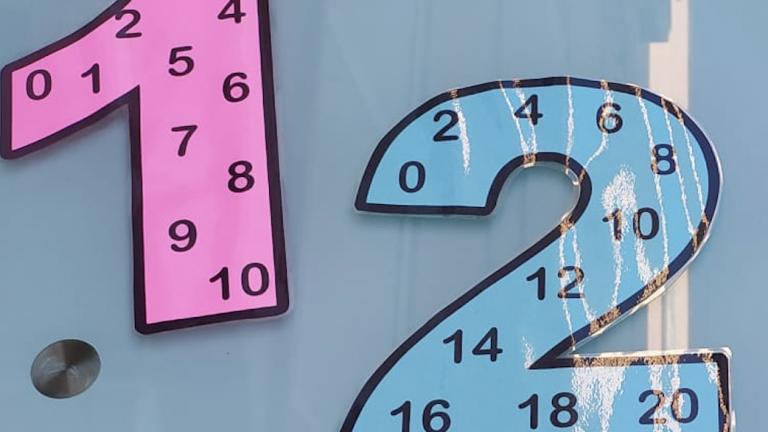 Tablas números de multiplicar