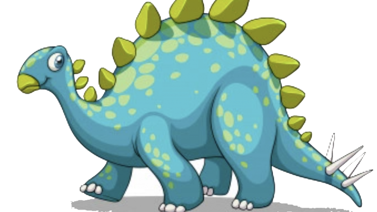 Coloca los dinosaurios